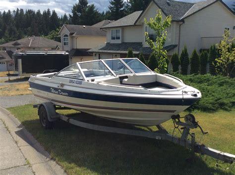 19 Ft Boat bayliner classic 19 ft 140 hp mercruiser bow rider lake
