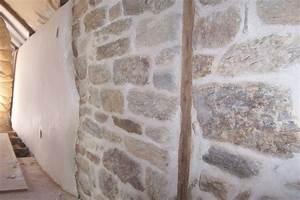 enduit chaux chanvre et mur de pierres mur pinterest With enduit mur interieur chaux