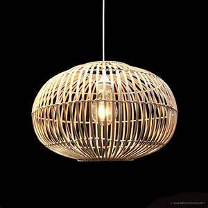 Bamboo pendant light - Store Without a Home