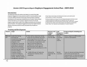 comfortable employee engagement plan template contemporary With employee engagement resume sample