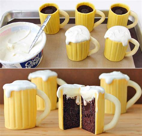 mug cupcake beer mug cupcakes with whiskey cream filling alldaychic