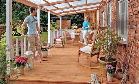 Wie Heimwerker Selbst Eine Terrasse Bauen by Terrassen 252 Berdachung Selber Bauen Heimwerken