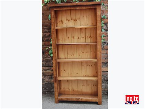 Pine Bookcase by Plank Pine Bookcase Handcrafted By Incite Interiors Derby