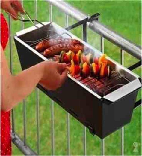 diy handrail barbecue  tiny patios    fun