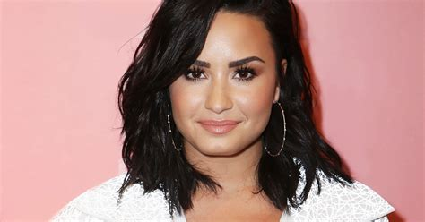 Demi Lovato Reveals Tiny Finger Tattoo About Self Love
