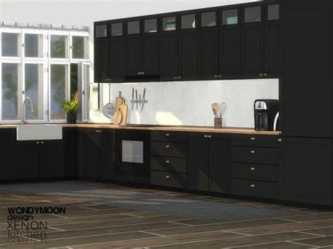 sims resource xenon kitchen  wondymoon sims