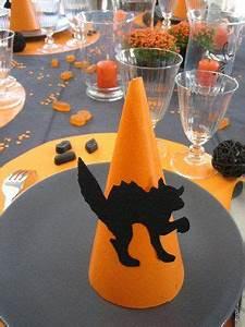 Decoration Halloween Maison : deco table halloween faire soi meme ~ Voncanada.com Idées de Décoration