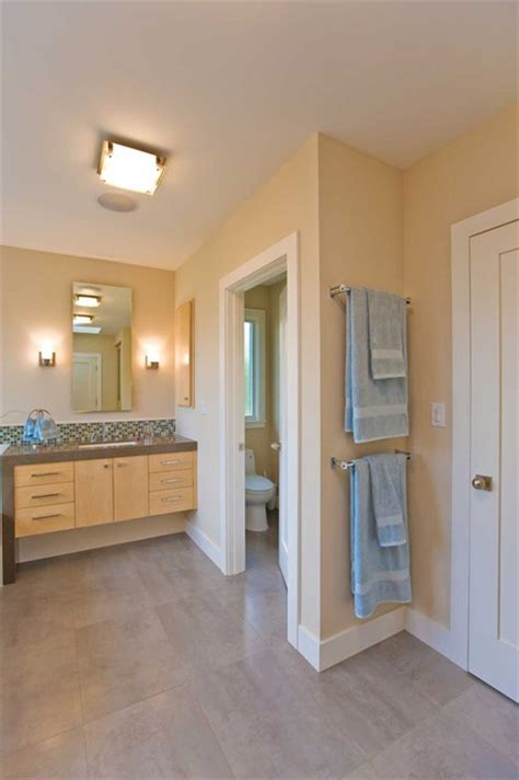 master bathroom  separate room  toilet