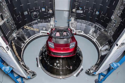 View Tesla Car Sent To Space Gif