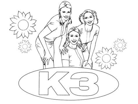 K3 Jurkje Kleurplaat by Coole Kleurplaten Kleurplatenonline
