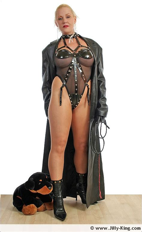 Leather Milf Whip Mistress Femme Fatale Jilly King Pichunter