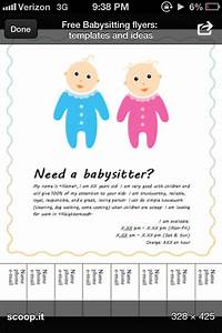 Babysitter Flyer Maker Babysitting Flyer Template Babysitting Flyers