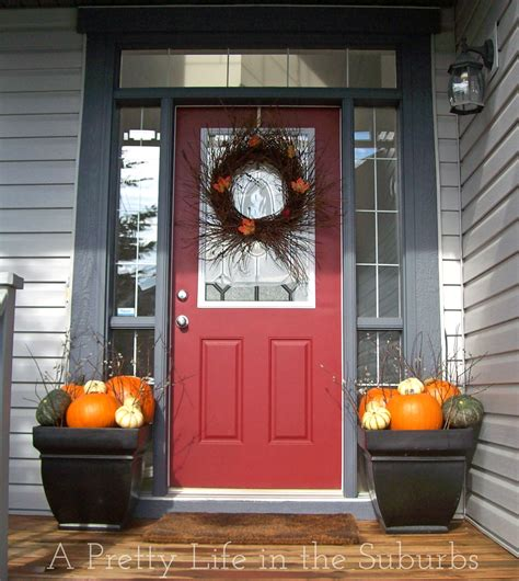 Fall Front Porch Decorating Ideas by Fall Porch Decorating Ideas A Pretty In The Suburbs