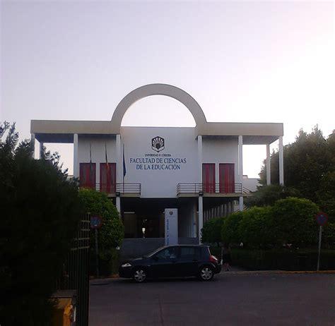 file facultad de ciencias de la educaci 243 n uco jpg wikimedia commons