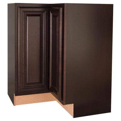 home depot unfinished cabinets lazy susan hton bay 28 375x34 5x16 5 in cambria lazy susan corner