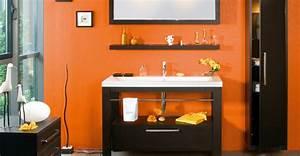 Salle De Bain Orange : avis couleur pour ma salle de bain ~ Preciouscoupons.com Idées de Décoration