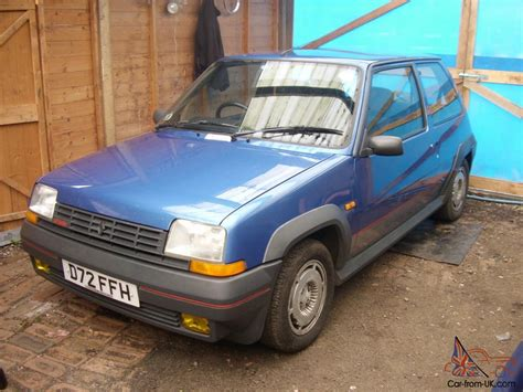 renault turbo for sale renault 5 gt turbo 1987 all original no modifications one