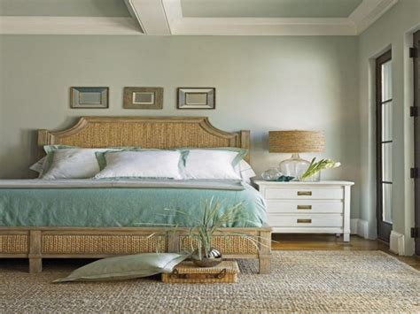 Romantic Beach Theme Bedroom Pink Metal Panel Bed Tufted