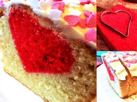 Valentinstag Kuchen Mit Herz (ohne Spezielle Backform