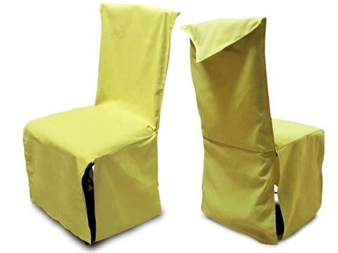 housse de chaise hauteur dossier 60 cm housse de chaise finition pointe coton vert anis