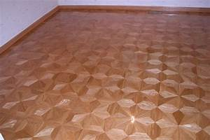 example of hardwood or stone floor medallion borders With parquet m2