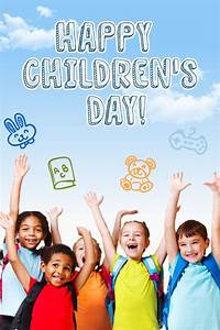 Happy Children's Day #children # kids - PixTeller Design 92772