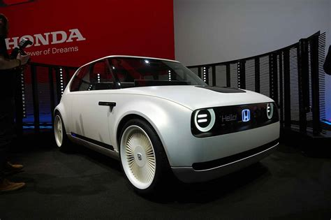 Honda's Retrostyled Urban Ev Concept Is Totes Adorbs
