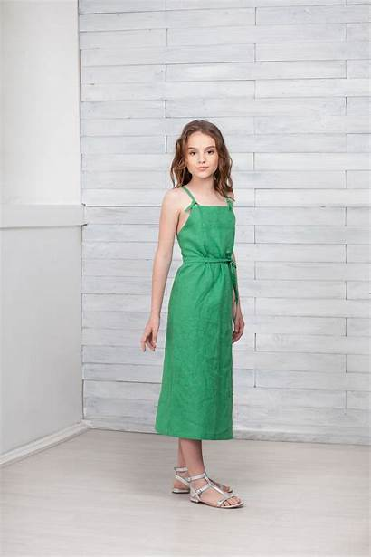 Linen Etsy Dress Dresses Preteen Pure Bikini