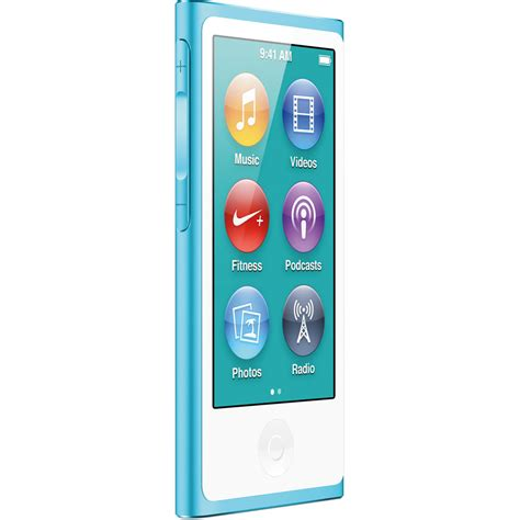 ipod nano generationen apple 16gb ipod nano blue 7th generation md477ll a b h photo