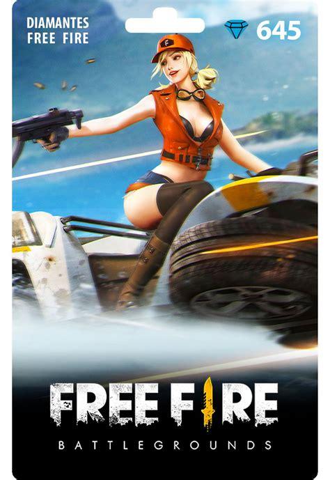 Free fire es el último juego de disparos de supervivencia disponible en el móvil. Free Fire: 645 Diamantes Recarga   Zero3Games