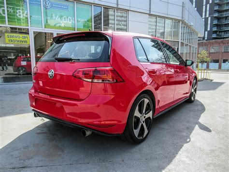 volkswagen gti  door autobahn leather tech