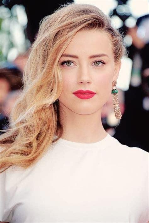 Amber Heard Blonde Hair