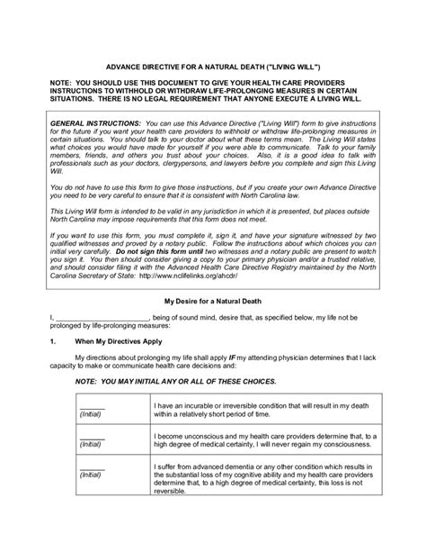 living trust forms oklahoma sle living will template design templates