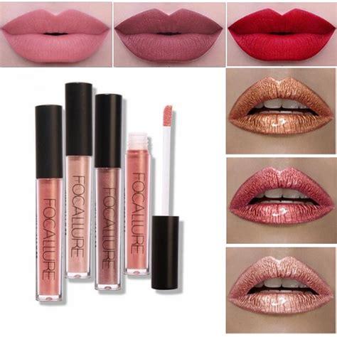 focallure matte metallic lip gloss liquid lipstick