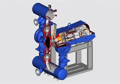 Pump Piston Animation Pumps Diaphragm Sludge Triplex