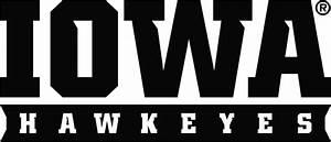University of Iowa Wordmark, Iowa Hawkeyes