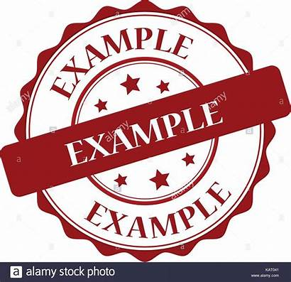 Example Stamp Illustration Vector Alamy