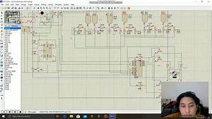 Rangkaian System Lift 3 Lantai  Tanpa Relay
