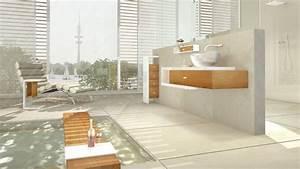 Tv Für Badezimmer : badezimmer trends wellness bad statt nasszelle wohnen hamburger abendblatt ~ Markanthonyermac.com Haus und Dekorationen