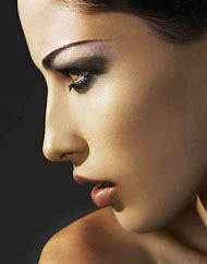 Side Profile Face Women