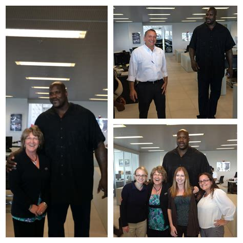 audi pembroke pines quot it s always a great day when shaq stops by your office http