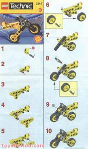 Lego 2544 Shell Promotional Set  Technic Motorcycle Set
