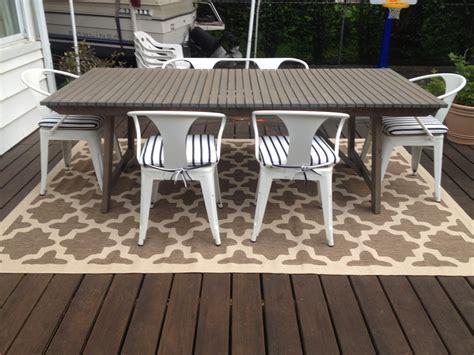 patio progress outdoor rug effortless style blog