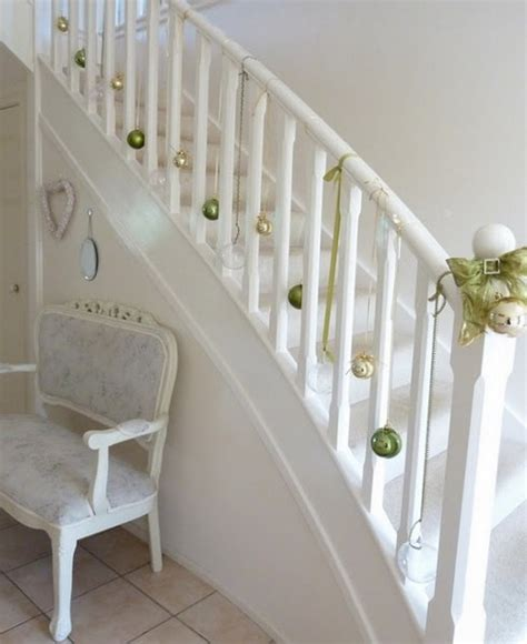 100 Awesome Christmas Stairs Decoration Ideas  Digsdigs. How To Organize Under The Kitchen Sink. Kitchen Counter Organizer Shelf. Rustic Country Kitchen Design. Beautiful Modern Kitchen. Old Country Kitchen Designs. Kitchen Drawer Storage Ideas. Simple Country Kitchen Ideas. Modern Kitchen Pendant Lighting