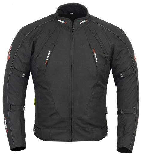 black motorbike jacket mens motorcycle motorbike jacket waterproof textile