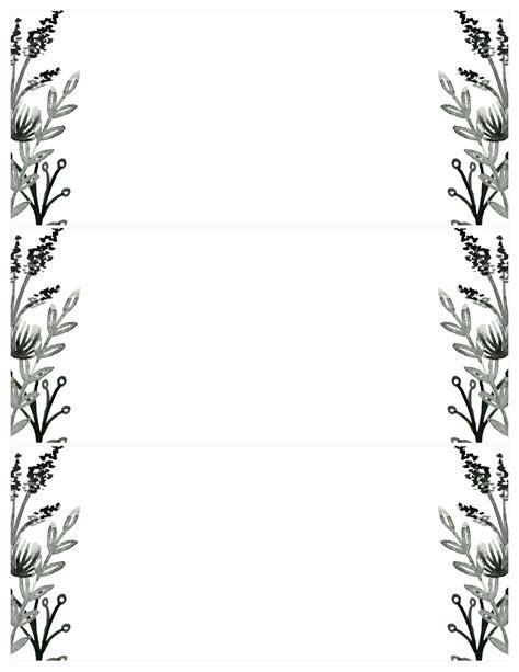 black template black white flowers invitations templates free printable paper trail design
