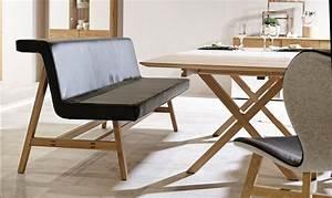 Sitzbank Esszimmer Leder : wie sie ein modernes esszimmer mit holzm beln gestalten planungswelten ~ Frokenaadalensverden.com Haus und Dekorationen