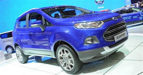 Ford Introduces European Ecosport Mini Suv At The Geneva