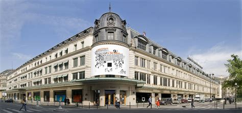 siege social lvmh le bon marché grand magasin parisien distribution