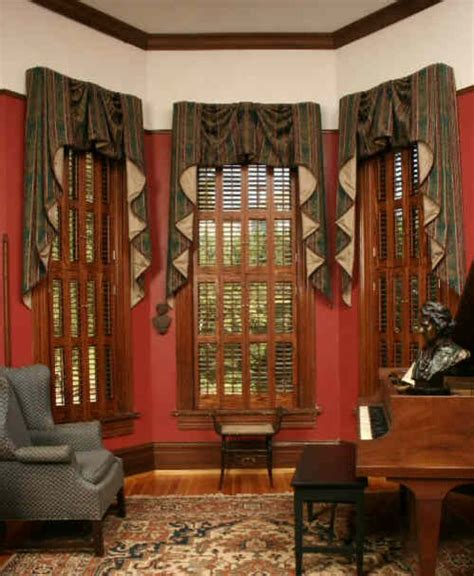 How To Measure For Cafe Curtains by Devenco Authentic Victorian Shutters